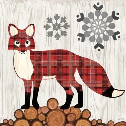 Norwegian Wood-Fox by Jennifer Brinley | Ruth Levison Design