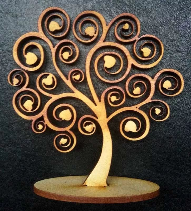10 árboles de la vida fibrofacil madera souvenir para pintar