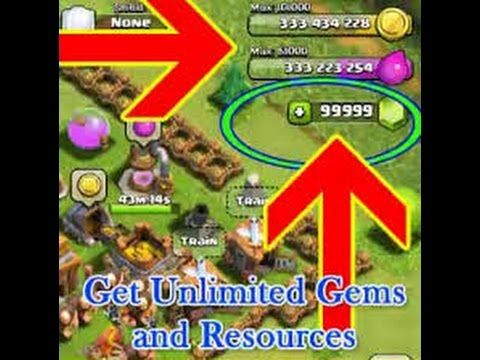 clash of clans unlimited resources