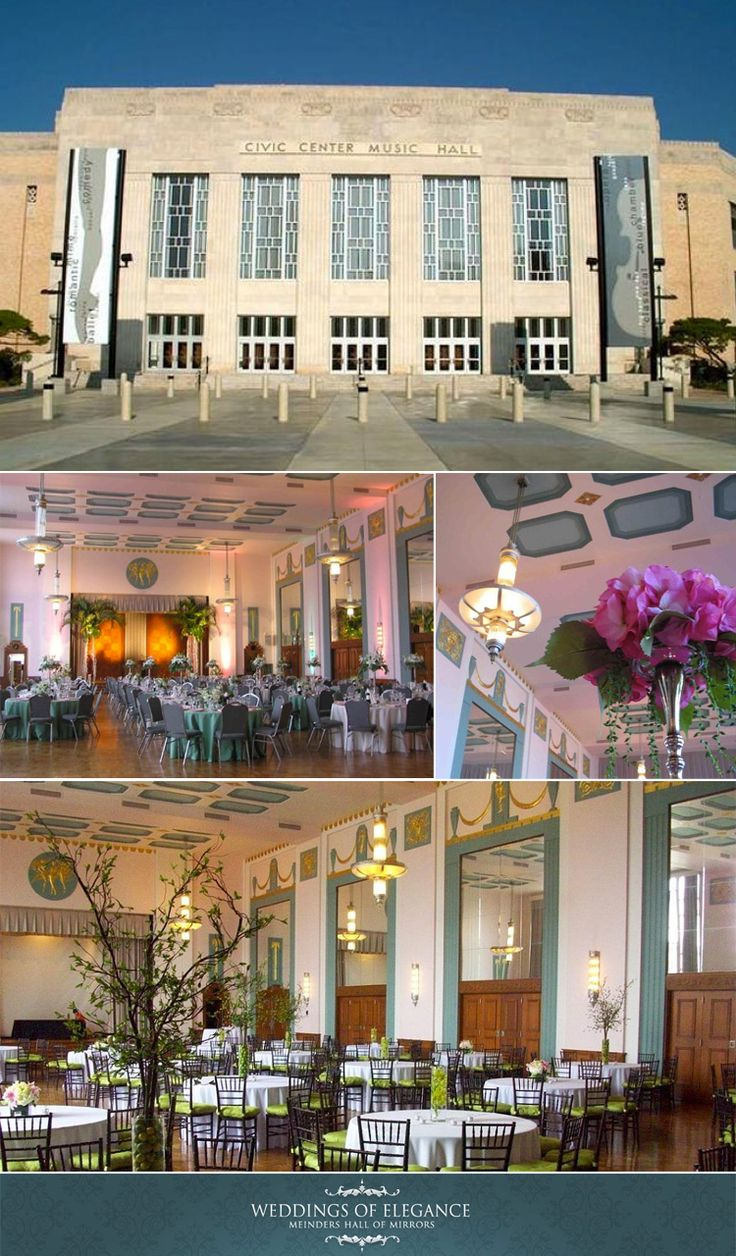 wedding venues oklahoma city | Oklahoma City wedding venue Meinders Hall of Mirrors at the Civic ...