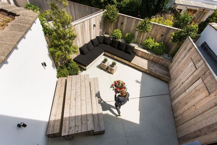 Beste afbeeldingen van terras ideeën decks moderne tuinen en