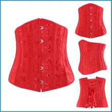24 steel boned women corset waist training, slim body shaper, underbust bustier Best Seller follow this link http://shopingayo.space