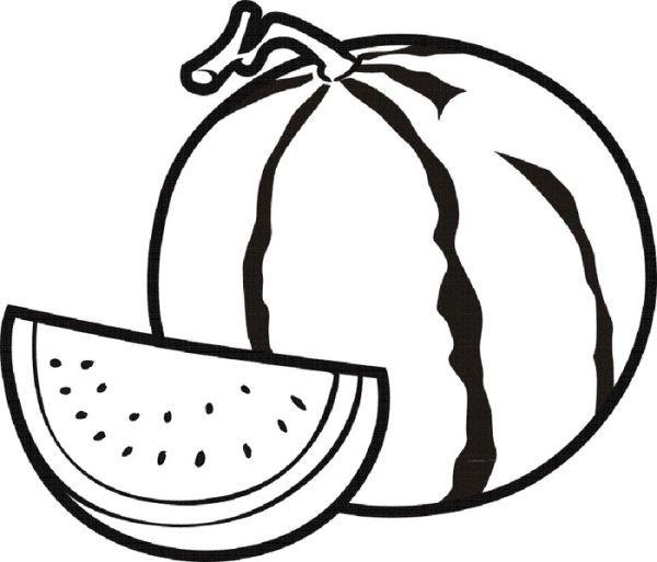 Watermelon Fruit Semangka Warna Buah