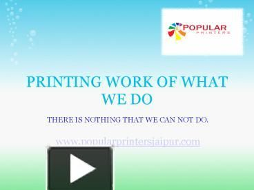 There are various types of materials that can be printed via digital printing and so for every material, there is a different procedure and process. Inkjet Printing is usually used for printing materials such as papers, plastics or some other related materials. It works by releasing drops of inks onto the materials.