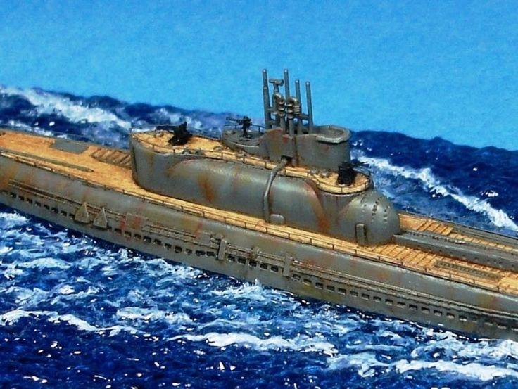 Gemi Modelleri: Pitroad 1/700 IJN I-14