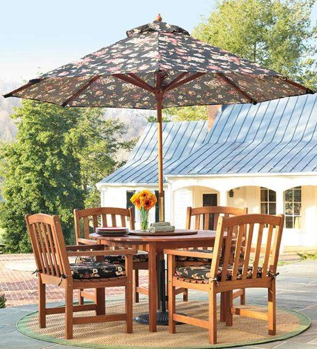 Backyard Forest Stewardship :  Forest Stewardship CouncilCertified Eucalyptus Oval Dining Table And