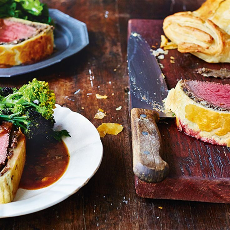 Try this Beef Wellington  recipe by Chef Jamie Oliver.