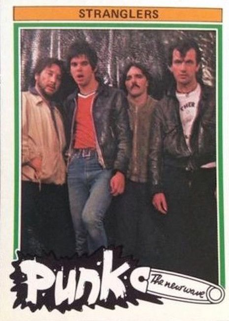 Punk rock trading cards from 1977   Dangerous Minds