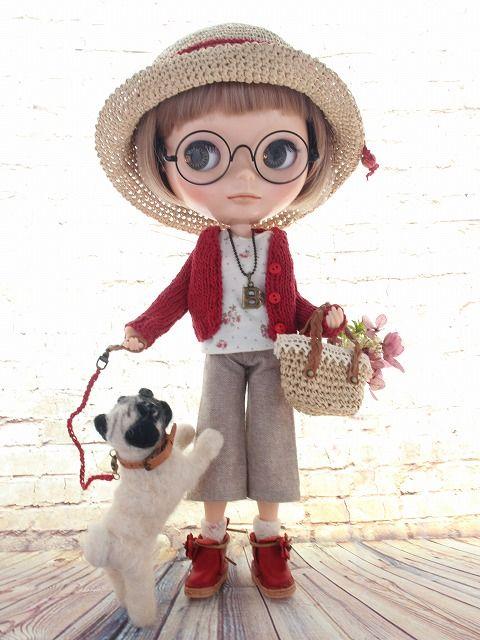 ◆Blythe Outfit◆ブライス♪パグとお散歩9点set NO.47 - ヤフオク!