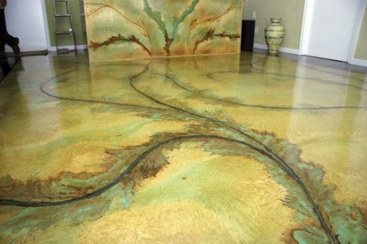Dyed Concrete Flooring : Best acid stained concrete floor images on pinterest