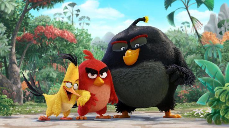 Desenhos De Sandro Cleuzo Para O Filme Angry Birds