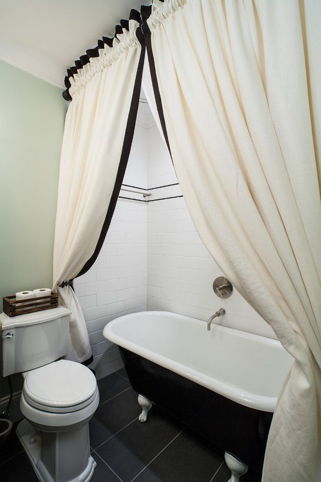 Staggering Clawfoot Tub Shower Curtain Ideas Decorating Ideas
