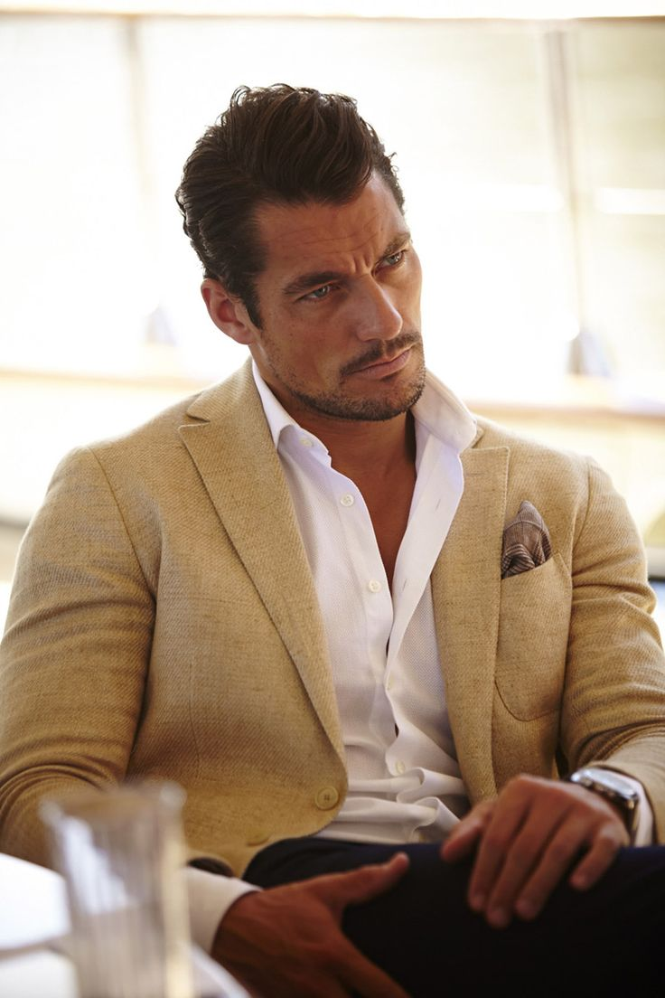 David Gandy Enjoys Some Johnnie Walker - Socialite Life