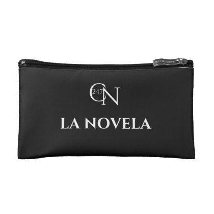 Café Novela La Novela Small Cosmetic Bag - personalize gift idea diy or cyo