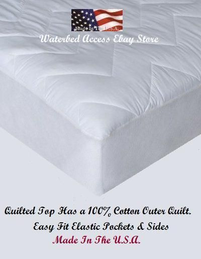 Cotton Mattress Pad For Full & Double Size Mattresses
