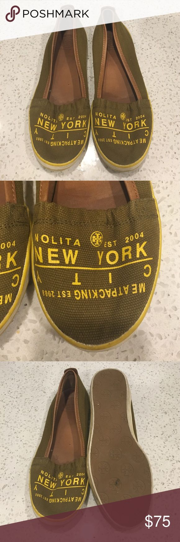 """🆕LISTING! Tory Burch """"Meat Packing"""" flats Just throwing on to see if there is any interest. No need to sell. Price is firm. Rarely worn (maybe 5 times). Super comfy and an easy go too Tory Burch Shoes Flats & Loafers"""