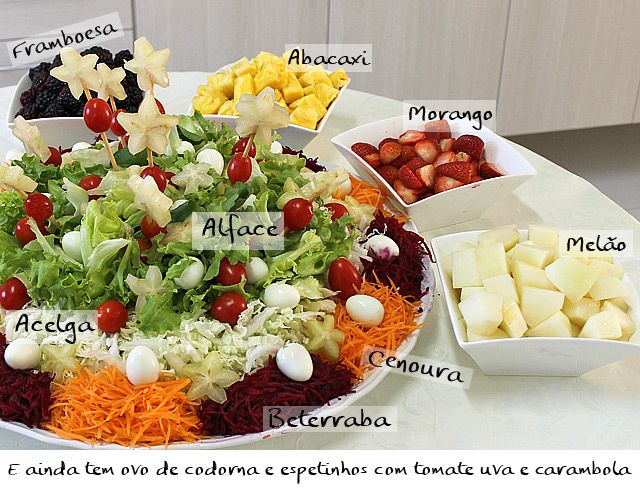 PANELATERAPIA - Blog de Culinária, Gastronomia e Receitas: Salada Luxo da Mamãe