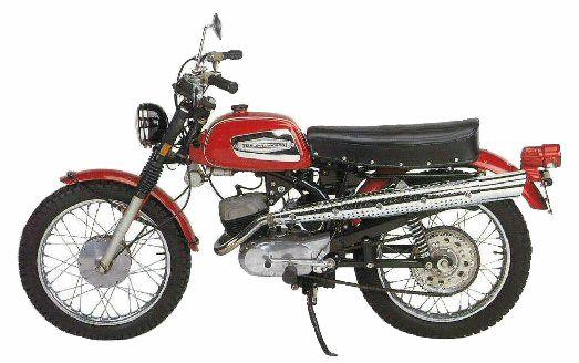 1971 Harley-Davidson 125 Rapido