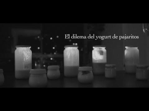 """Les dejo mi nuevo cortometraje  =)    """"El dilema del yogurt de pajaritos"""""""