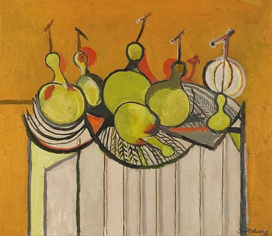 Graham Sutherland, Still life with Gourds
