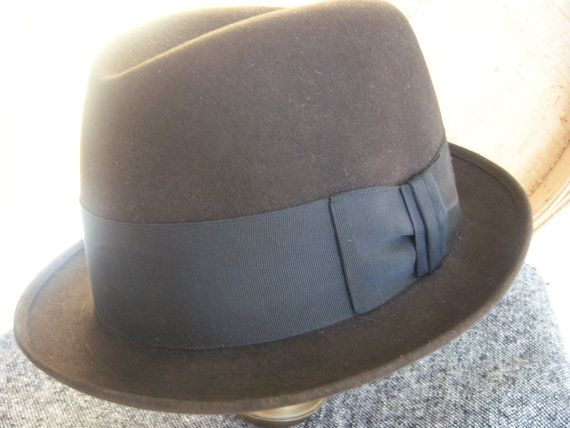 Royal Stetson Vintage Stetson Fedora Mens Hats by AngelandAnnie, $59.00