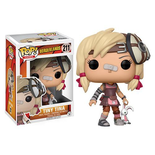 (affiliate link) Borderlands Tiny Tina Pop! Vinyl Figure