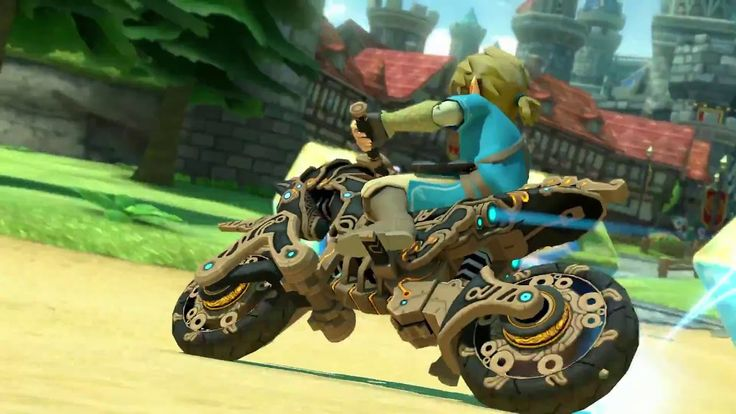 Mario Kart 8 Deluxe Breath Of The Wild Update Trailer The Master