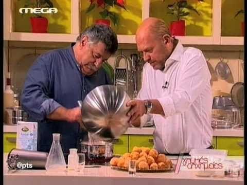 """Γευστική διαδρομή απο το Στέλιο Παρλιάρο και τον chef Λευτέρη Λαζάρου στη χριστουγεννιάτικη εκπομπή """"Γλυκειές Αλχημείες"""" του megatv με την δημιουργία ενός Χρ..."""