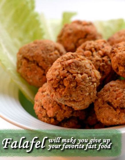 Falafel: Recipe for a healthiest 'fast food' - will make you give up your favorite fast food.