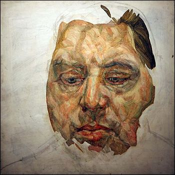 Lucien Freud, Francis Bacon, 1956-1957. #portrait #painting #art