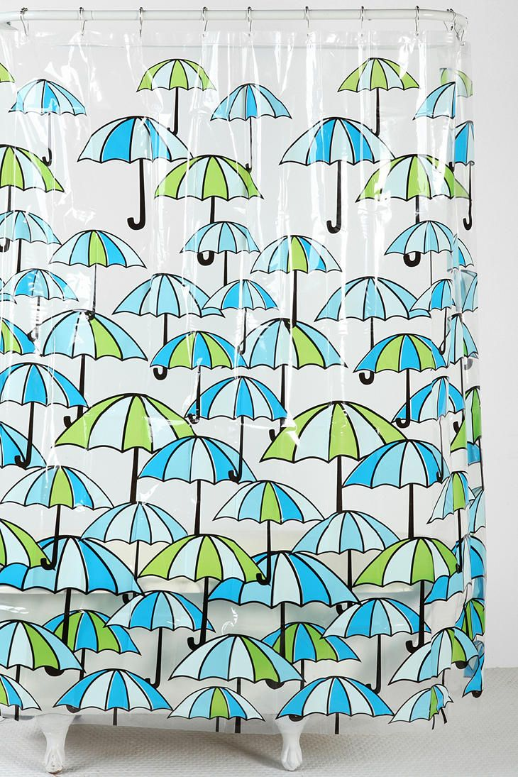 Style selections eva peva print multi fish shower curtain at lowes com - Shop Umbrella Shower Curtain At Urban Outfitters Today