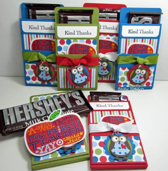 hershey bar gift holder.  Super fun idea! http://www.jademingmeidesigns.blogspot.com/