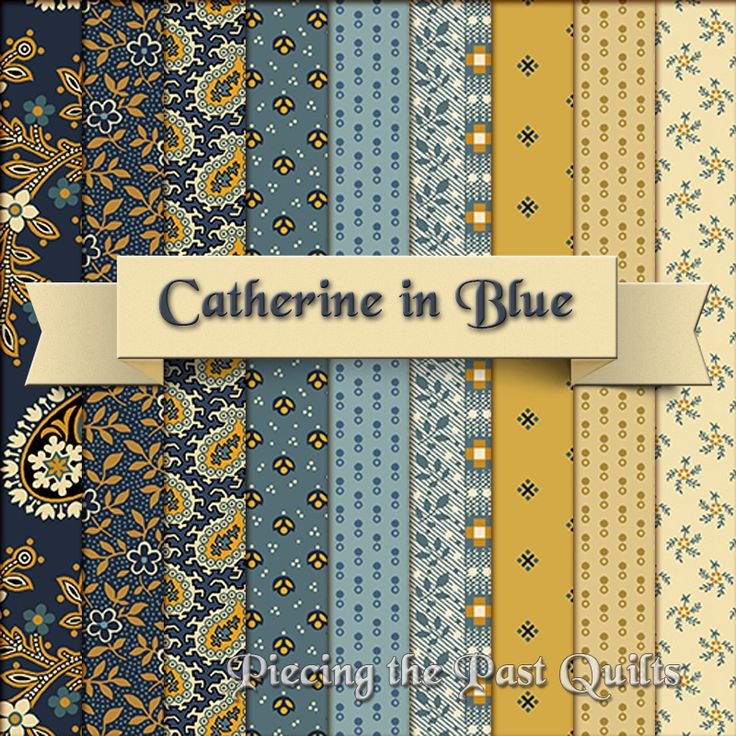 Jo Morton's new line, Catherine, coming out in June!