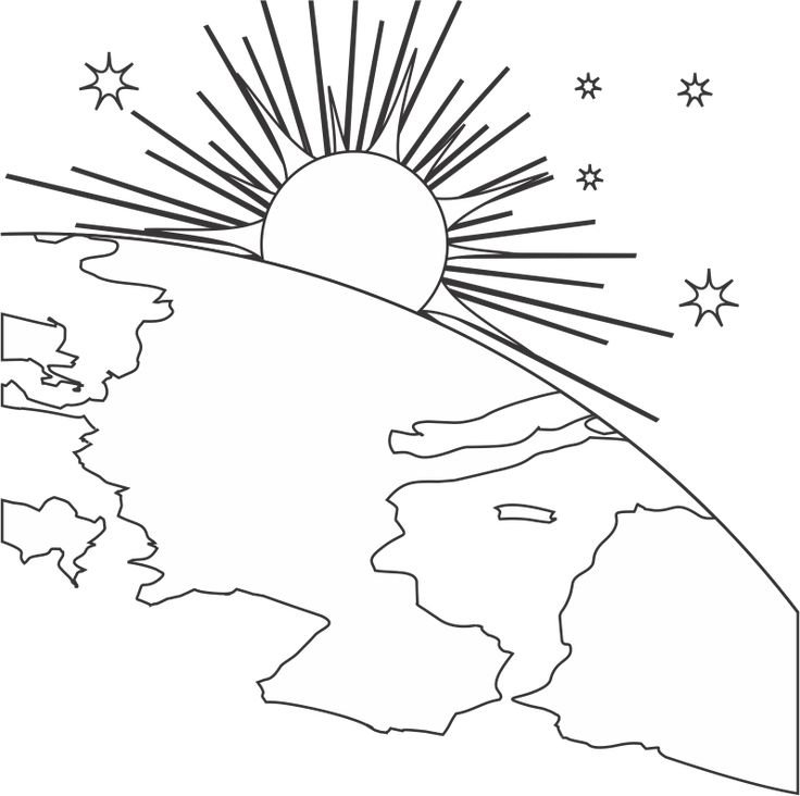 Creation Coloring Page A Criacao