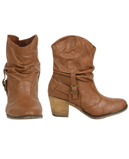 Short Cowboy Boot - Teen Clothing by Wet Seal - StyleSays