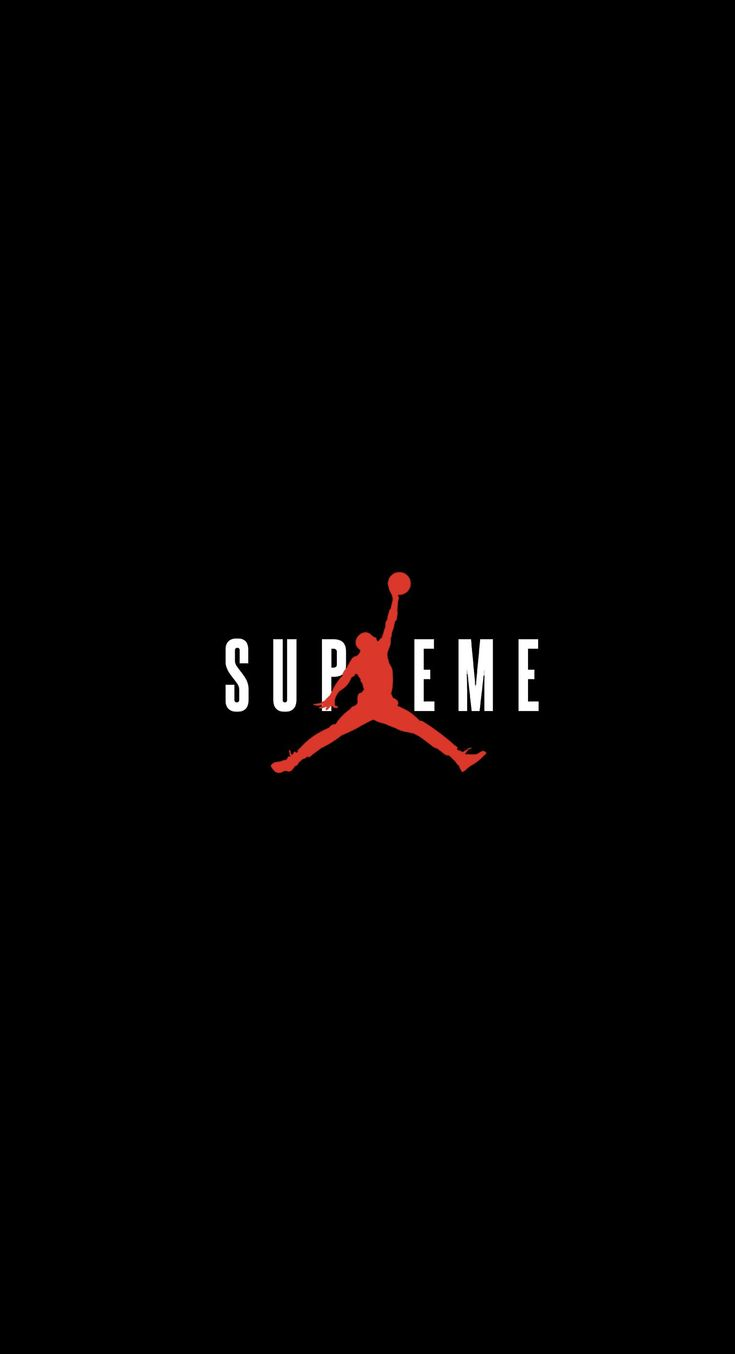 Wallpaper iphone jordan - Supreme X Jordan Wallpaper Streetwear Streetwear Wallpapers Wallpaper Zone