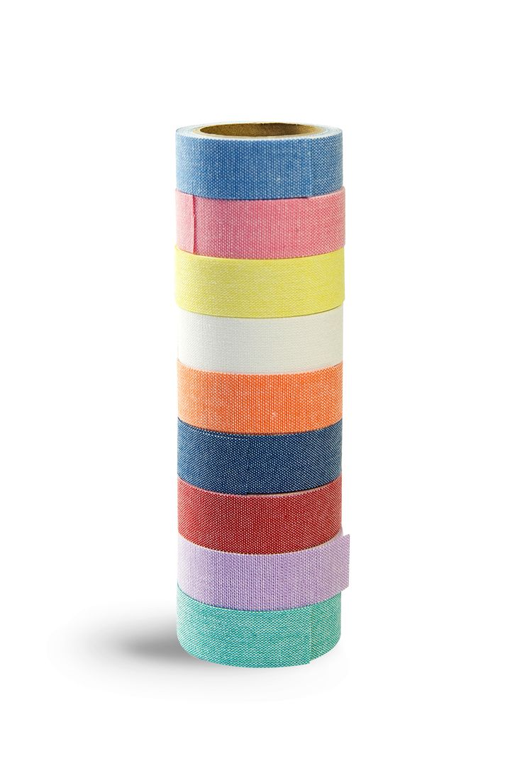 It's iron on and washable. Plain chambray fabric washi tape #nunodeco #contemporarycrafting #irononwashi tape  3 for $25 in our shop now https://www.handsonworkshop.com.au/product-category/iron-on-washi-tape/?utm_content=buffer4ead6&utm_medium=social&utm_source=pinterest.com&utm_campaign=buffer