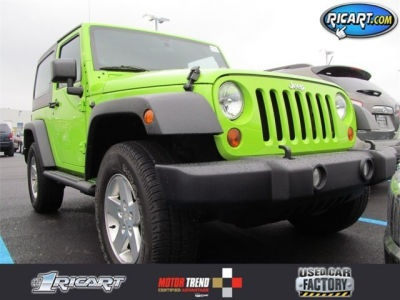 2012 Jeep Wrangler Sport Lime Green http://www.iseecars.com/used-cars/2012-jeep-wrangler-for-sale#