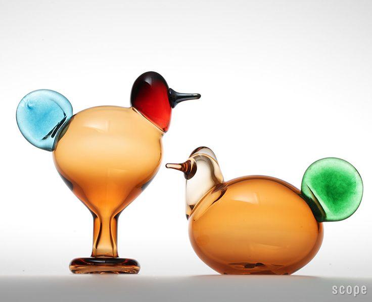 iittala (Iittala) / Birds by Oiva Toikka (Bird by Oiba-Toikka) Sulo & Sorja pair