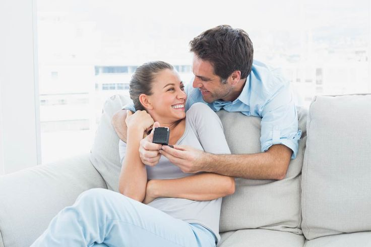 A proposal at home