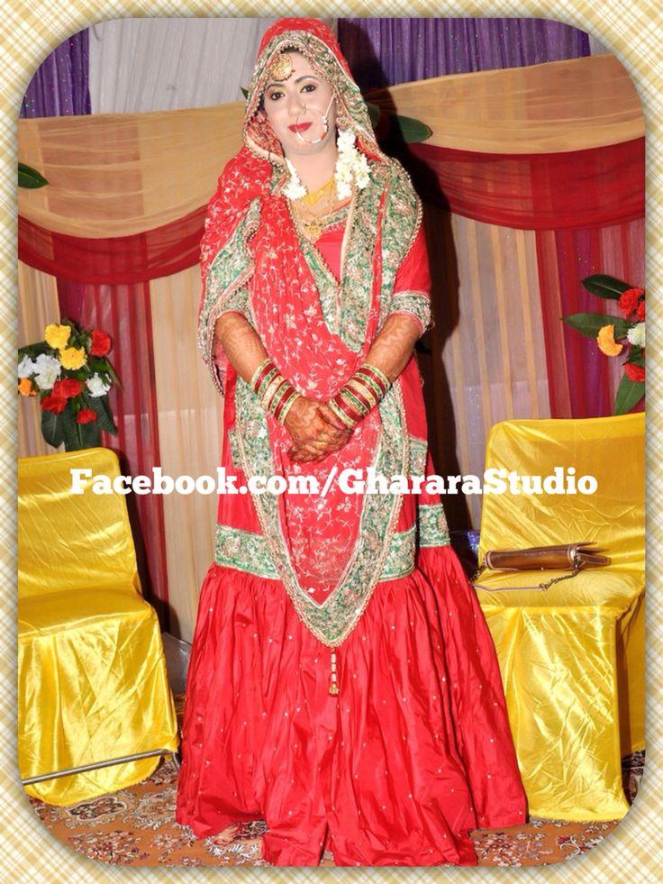 My Royal Client  Mail or whatsapp us to enquire about this red silk Gharara with handwork zari & dabka embroidery. #gharara #gharara4u #ghararadesign #GhararaStudio #weddinggharara #bride #bridalgharara #bridallehenga #weddinglehenga #silkgharara #red #embroidery #zari #handwork #royal