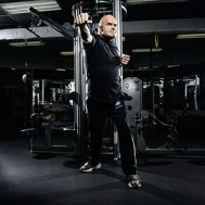 MMA champ Bas Rutten walked us through his favorite exercises, which tended toward explosive moves that enhanced his colossal kicking power.