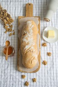 #Brot #backen #Walnuss #Walnussbrot #Selber #Rezept #recipe #Brotbacken #Honig #Honigbrot