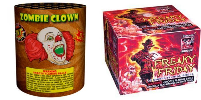 Bring Home These Horror Themed Fireworks for the 4th This Year!