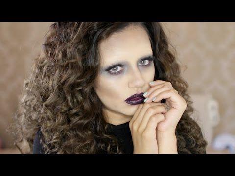 GLAM Ghost Halloween Makeup Tutorial 2015 | Kaushal Beauty - YouTube