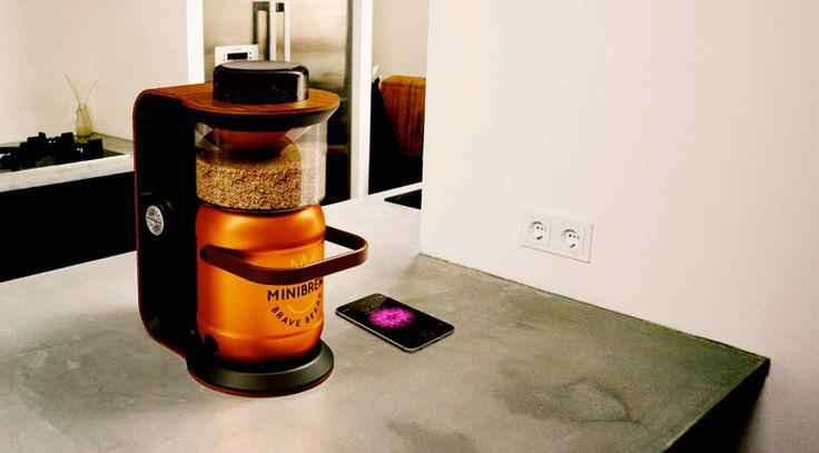 Minibrew den perfekte gadget til hjemmebryg af øl