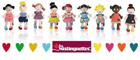 La collection des poupées mistinguettes