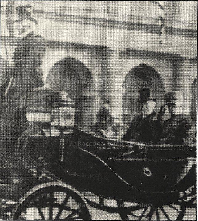 Roma Sparita - Re Vittorio Emanuele III 1919