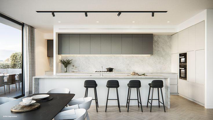 pelham armadale apartment kitchen luxury