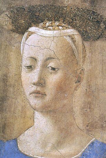 Piero della Francesca, Madonna del parto, detail (1459-67)